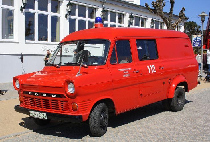 Ford Transit - alt - als Feuerwehrauto der Freiwilligen Feuerwehr Ostseebad Zinnowitz, 01.05.2017