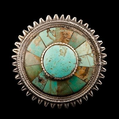Afghanistan, Ring, turquoise/silver, c. 1920.