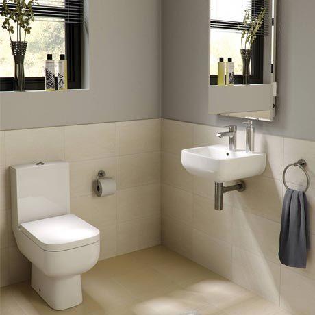 RAK Series 600 Cloakroom Suite   Close Coupled WC   40cm Hand Basin. 17 Best ideas about Cloakroom Suites on Pinterest   Cloakroom