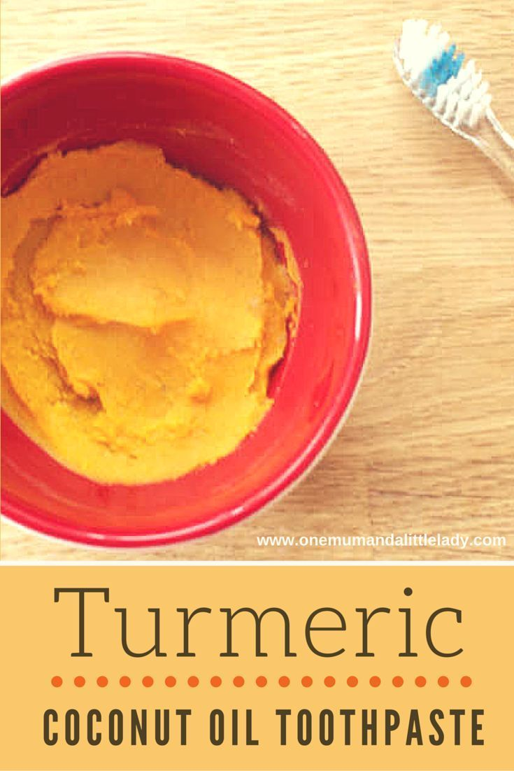 Ditch the chemicals in many shop bought toothpastes and put a smile on your face with this all natural and easy to make turmeric coconut oil toothpaste...
