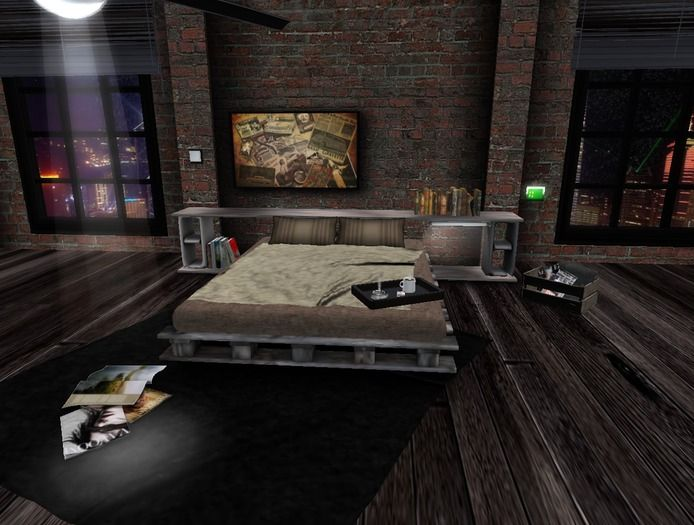 NEW!!! Urban Style-Industrial Chic Bedroom 841 HQ animations Xpose - xcite! and sensations compatible new BDSM menu