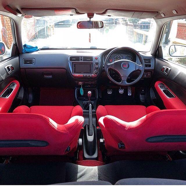 Ek9 Oem Interior Honda Civic Hatchback Honda Civic Honda Civic Si