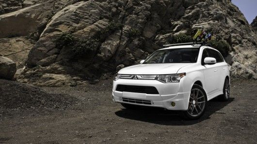 Mitsubishi has revealed two concept cars aimed directly at fitness fiends and adrenaline junkies. Both concepts are based around the Outlander SUV line-up and include some very specific equipment.