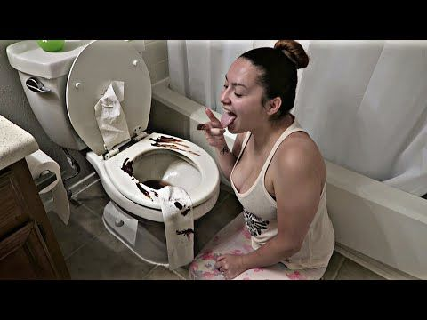 Watch POOP ON TOILET PRANK!!! Video online and send it to your Friends.