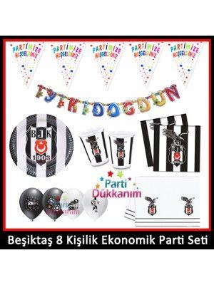 Beşiktaş 8 Kişilik Ekonomik Parti Seti