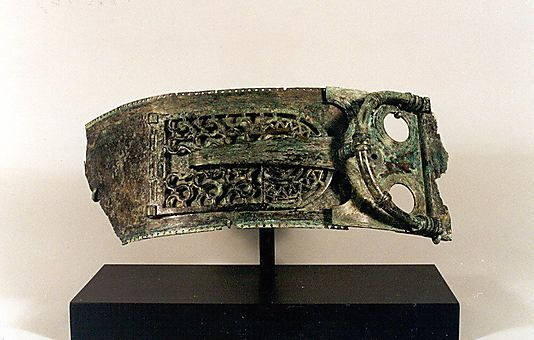 Belt fragment with a buckle Date: ca. 8th–7th century B.C. Accession Number: 1996.67 Belt fragment with a buckle