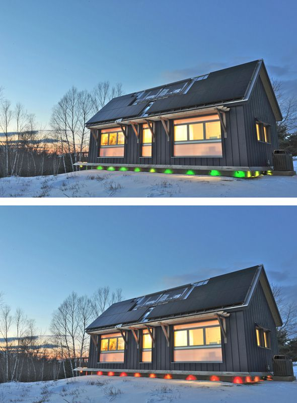 Kaplan Thompson Architects / Photos and Drawings  BrightBuilt Barn: a  Super Green