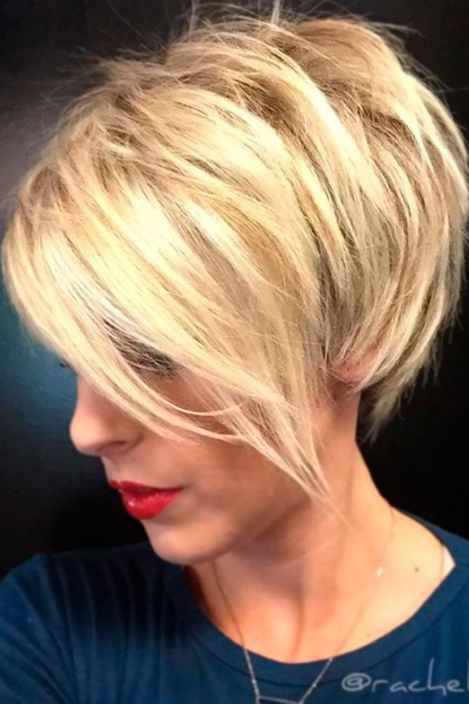 25 best ideas about Short layered hairstyles on Pinterest