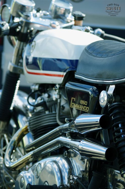 Im Going To Need A Bigger Garageawesome Norton 850 Commando In The Paddock This Years Donington Classic Motorcycle Festival