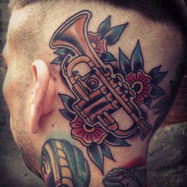Best 25 Music Download Ideas On Pinterest: 25+ Best Ideas About Trumpet Tattoo On Pinterest