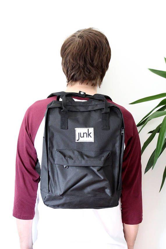 Junk Boardwear UNISEX urban rucksack in Black  backpack