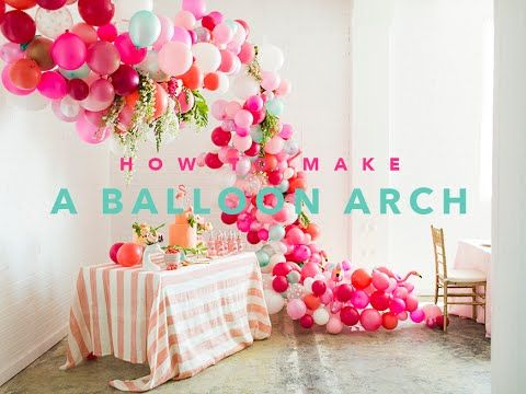 Balloon arch tutorial - The House That Lars Built
