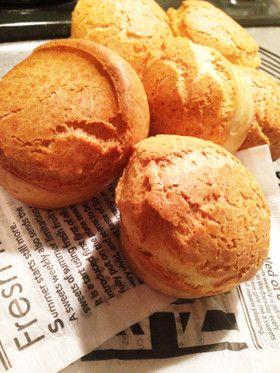 簡単☆ハワイのパン☆ポップオーバー☆