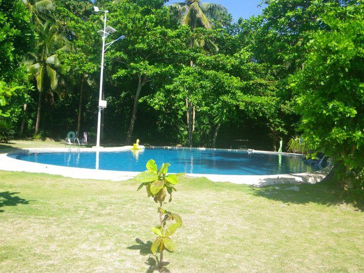 Aliguay Island in Dapitan City, Zamboanga del Norte, Philippines