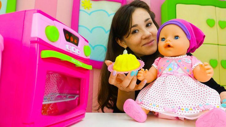 Сюжетно ролевые игры для девочек одевалки «КАК МАМА». Кукла Беби БОН Эми...