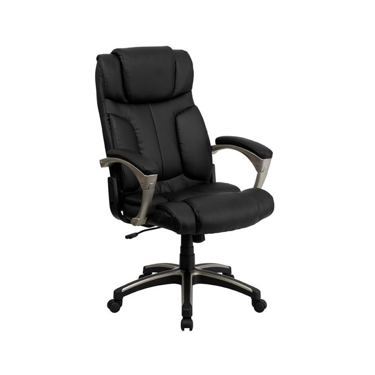 Offex High Back Folding Black Leather Executive Office Chair [OF-BT-9875H-GG]