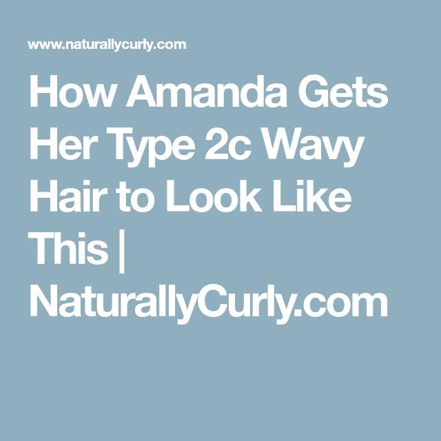 25 trendige 2c hair ideen auf pinterest lockenpflege 3a