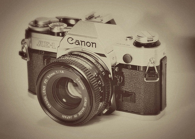 This was my very 1st camera - the Canon AE-1 Program.  I got it the day my nephew was born 6/18/83