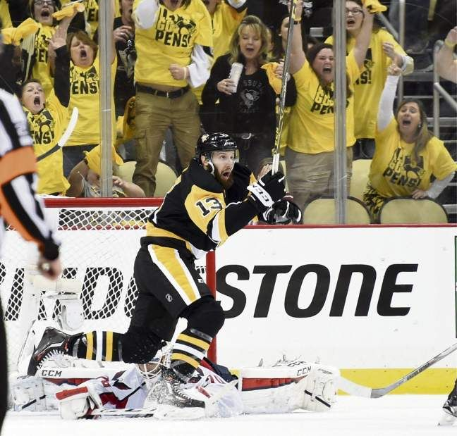 May 10, 2016 — Eastern Conference playoffs: Penguins 4, Capitals 3, OT (Photo: Chaz Palla     Tribune-Review)