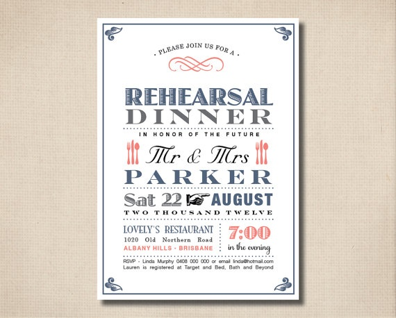 Cute :): Colour, Poster Design, Rehearsal Dinner, Rehearsal Invite, Vintage Poster, Invitations Fonts