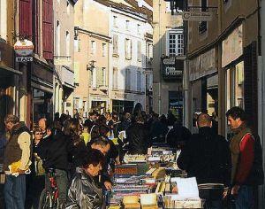 Village du Livre de Cuisery en France