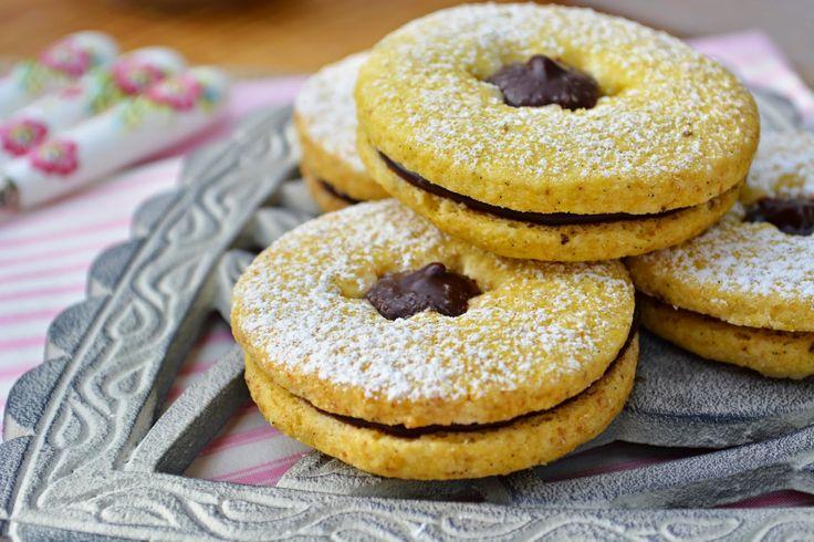 Troll a konyhámban: Vaníliás linzer csokikrémmel töltve - paleo