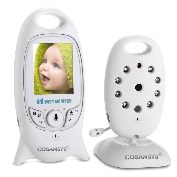 COSANSYS® 2.4GHz Wireless Digital LCD Color Baby ‎Monitor‬ Camera Audio Video Night Vision And Night Light Lullaby http://www.amazon.ca/dp/B00WSKTQ2S