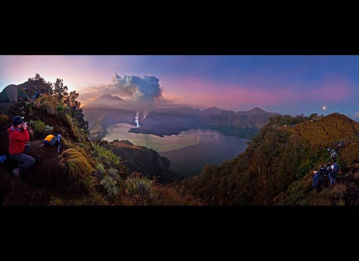 Mt Rinjani, Lombok