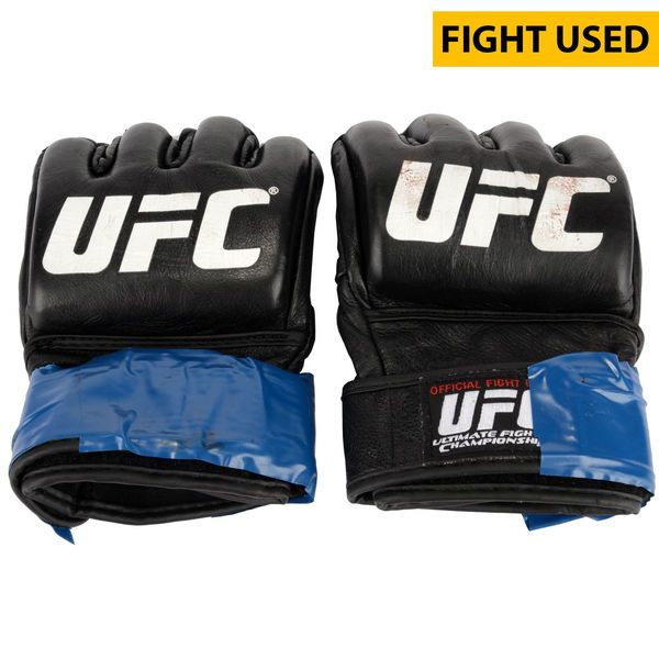 Sarah Moras Ultimate Fighting Championship Fanatics Authentic UFC Fight Night Mir vs. Duffee Fight-Worn Gloves - Fought Jessica Andrade in a Women's Bantamweight Bout - $399.99