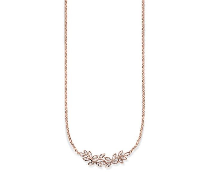 Silver pendant with rose gold plating from the Thomas Sabo Collection