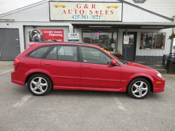 2002 MAZDA PROTEGE 5 WAGON,AT, HARD-TO-FIND!!!EXTRA CLEAN,RUNS GREAT!!