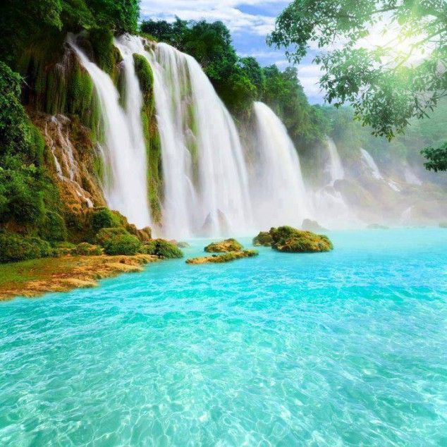 Top 10 Most Incredible Waterfalls in the World ~  Detain Waterfall , China