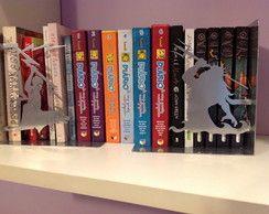 """Bibliocanto """"Percy Jackson"""" Aço"""
