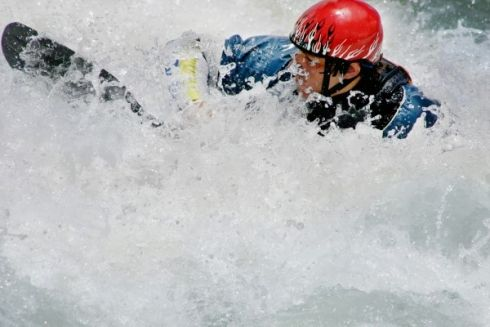 Gauteng White Water Kayaking - A White Water Kayaking adventure involves a journey, paddling on a kayak down a river with a number of rapids. The turbulence of a rapid creates frothy water that looks white - Manoeuvring your way through a white water rapid is fast paced paddling that will test your balance skills.
