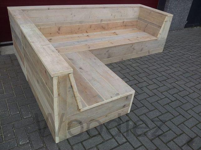 Made To Measure Scaffolding Corner Sofa Banke Backyard Seating Area