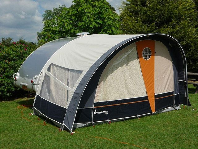 Tab caravan with awning blackmore vale leisure | Flickr ...