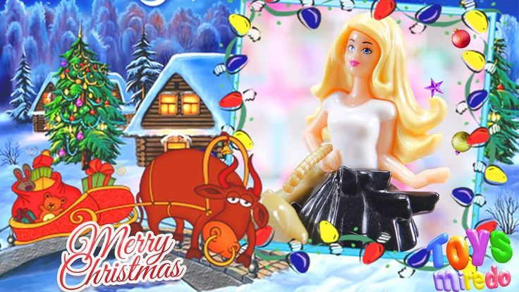 Barbie from Kinder Barbie advent calendar. Merry Christmas! @ToysMiredo on #youtube  #toysmiredo #surpriseeggs #kindereggs #barbie