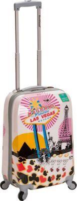 "Rockland Luggage Vegas 3 20"" Hardside Carryon Vegas - via eBags.com!"
