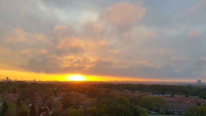 Morning has broken..... Nijmegen, The Netherlands