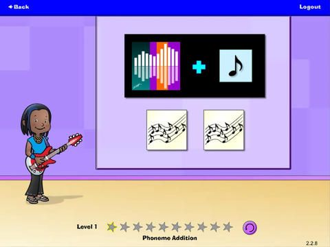 Hearbuilder Phonological Awareness by Super Duper Publications ($0.00) Targets nine phonological awareness skills: Sentence Segmentation, Syllable Blending, Syllable Segmentation, Rhyming, Phoneme Blending, Phoneme Segmentation & Identification, Phoneme Deletion, Phoneme Addition, Phoneme Manipulation • Multi-level program gradually increases in difficulty • Teaches children important listening and sound awareness for reading