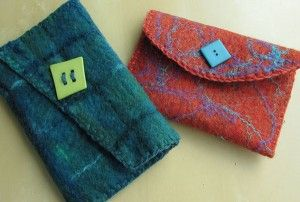 summer coat How to make felted purses from roving   the Knit Picks blog