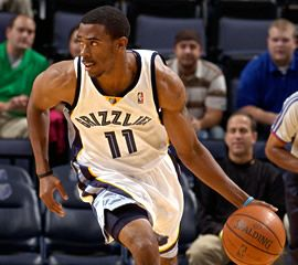Grizzlies' Mike Conley Jr. was suffering from an ankle sprain.