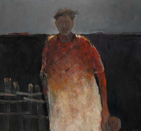 Mel McCuddin - 'Black Dirt Farmer' - The Art Spirit Gallery of Fine Art
