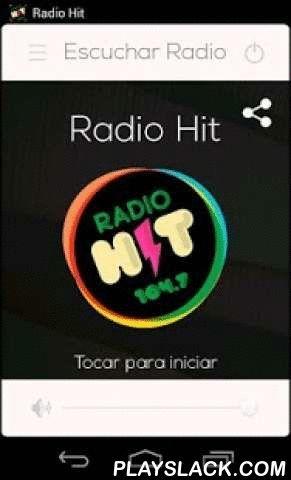 Radio Hit 104.7 Costa Rica  Android App - playslack.com ,  Aplicación donde podrás escuchar la radio, de forma gratuita online por Internet. Descubre, sigue y escucha a lo más importante para ti en tu teléfono o tablet, de Radio HIT 104.7 FM.Con esta aplicación puedes:- Escuchar tu emisora favorita- Llamar directamente a la emisora- Acceder a a Facebook y/o Twitter- Compartir lo que escuchas con tus amigosOrigen: Costa RicaSomos: Una radio nueva en FM con música en inglés, principalmente de…