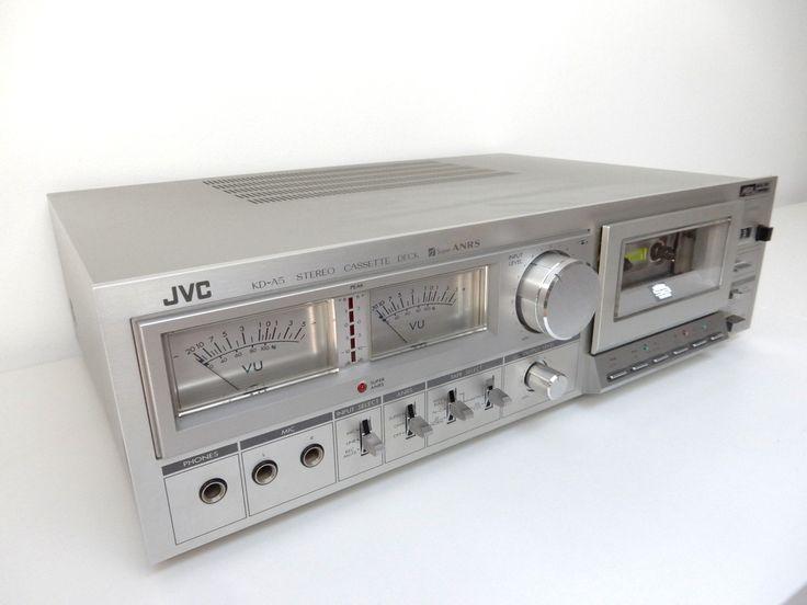 JVC cassette deck turn into a digital music player. Start streaming...