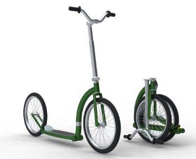 Bike Link - linkando as noticias e a vida a bike: Geetobee Patinete (scooter) dobrável