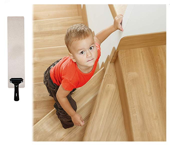 15-Pack Pre Cut Transparent 24x 4 Anti Slip Clear Tape Stair Tread
