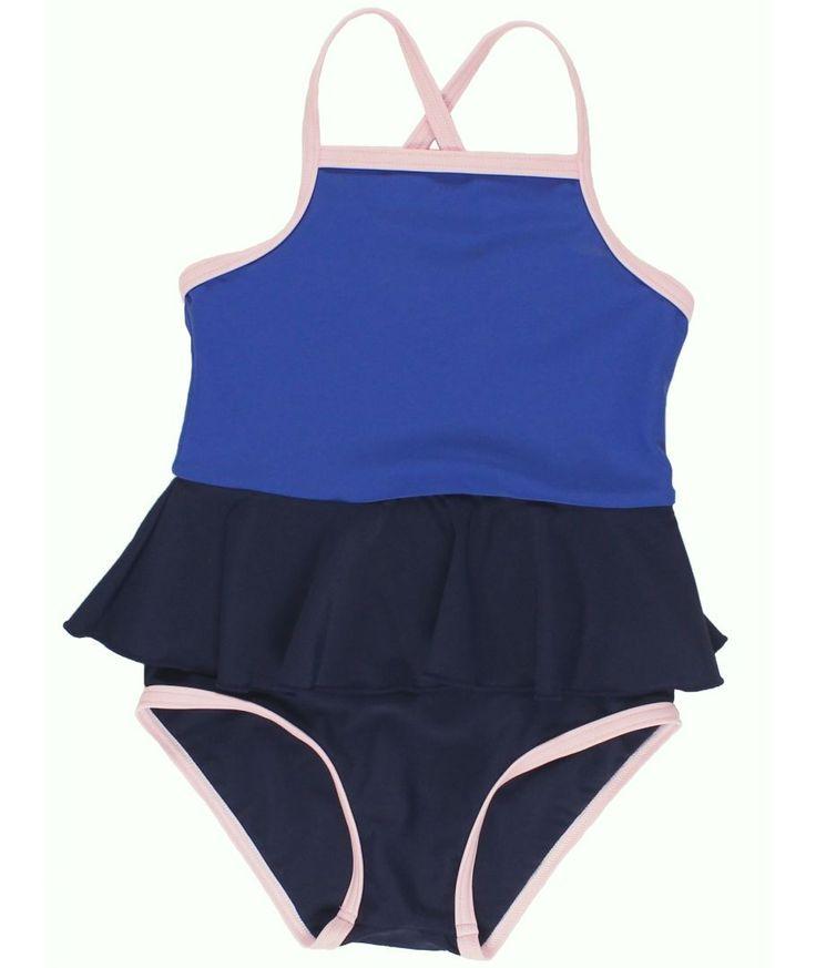 Swimsuit Frill dark navy