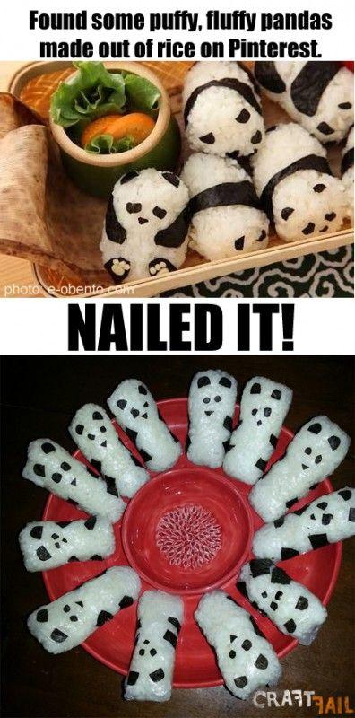 Panda Rice Balls nailed it