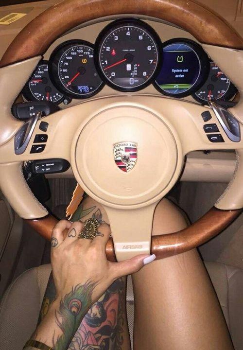 Image de car, tattoo, and porsche